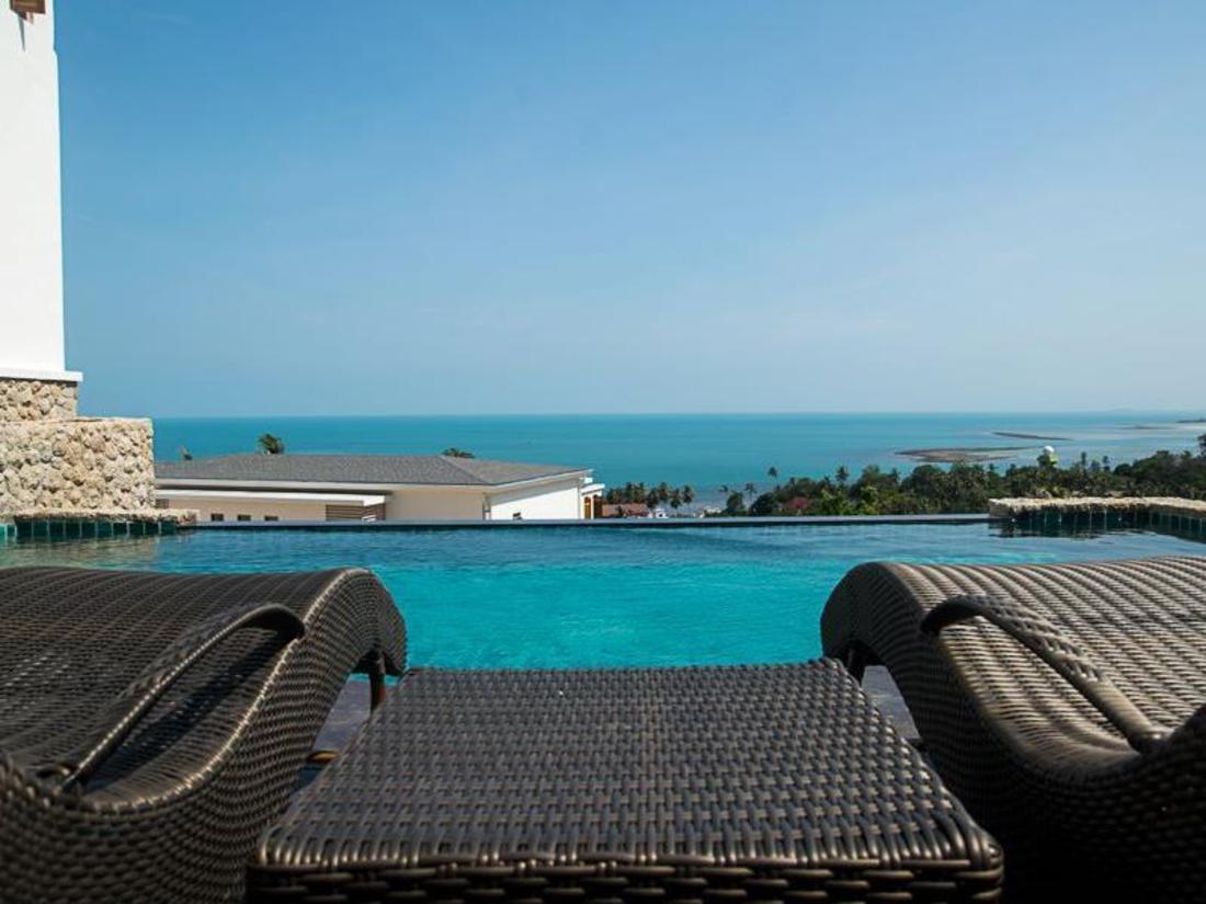 苏梅岛热带海景住宅
